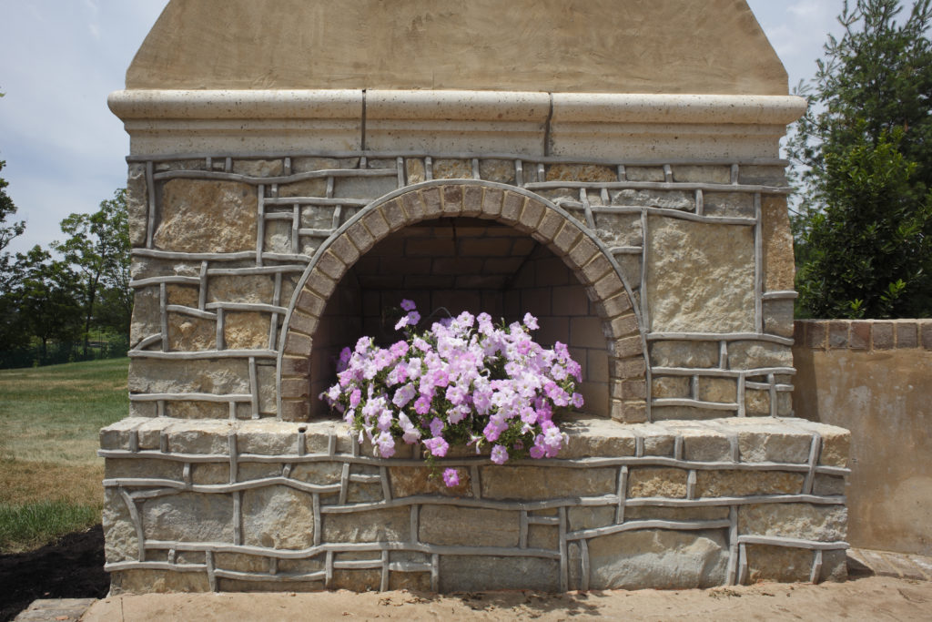 09 outdoor fireplace